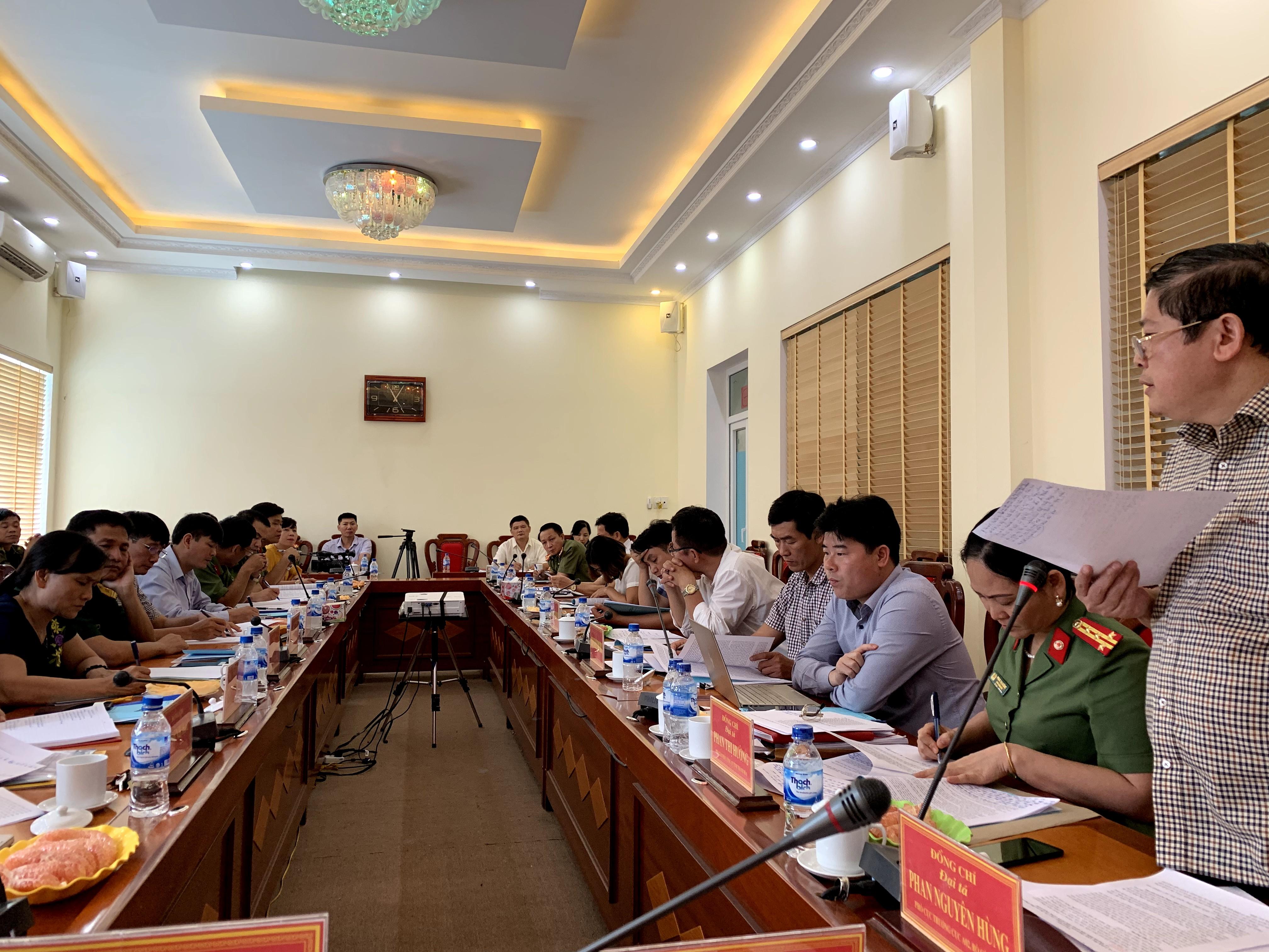 Khảo sát công tác đảm bảo ANTT trong xây dựng NTM tại tỉnh Thanh Hoá và Hải Dương